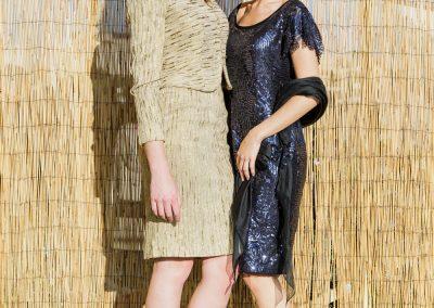 Flora Gauthier, création de robes de cocktail sur mesure